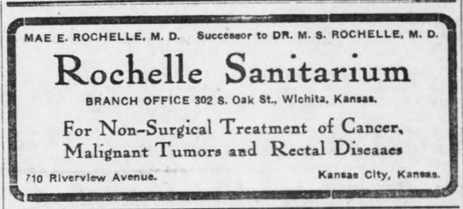 Wichita Daily Eagle 3-9-1913