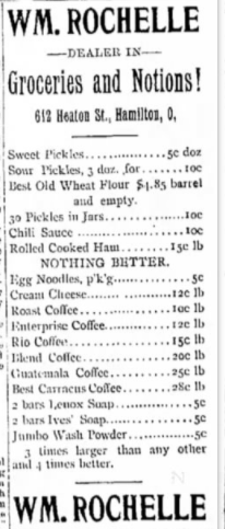 Hamilton Journal News July 5 1898