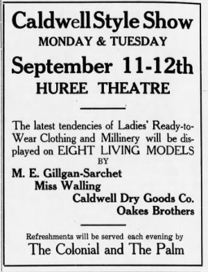 Caldwell Tribune Sep 1 1916
