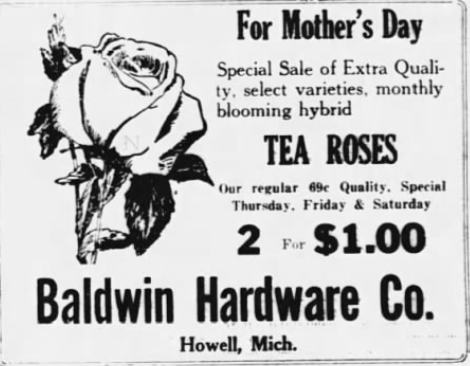 Livingston County Daily Press 9 May 1934
